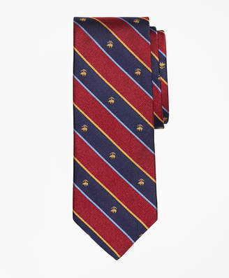 Brooks Brothers Argyll and Sutherland with Golden Fleece Stripe Tie