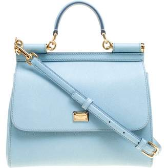 b0d59758a61c Dolce   Gabbana Blue Leather Bags For Women - ShopStyle UK
