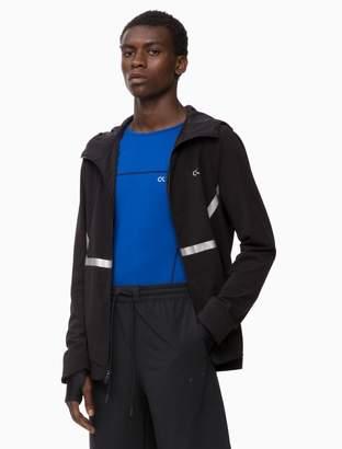 Calvin Klein Reflective Zip Windbreaker