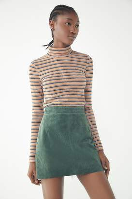 Urban Renewal Vintage Suede Mini Skirt