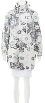 Marc Jacobs Hooded Floral Jacket