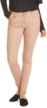 Dex Lace-Up Skinny Pants
