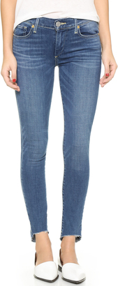 True Religion Halle Mid Rise Super Skinny Jeans $219 thestylecure.com