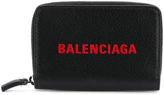Balenciaga zip-around card holder