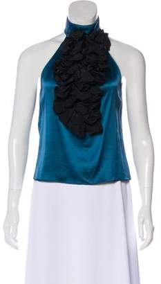 Etro Halter Silk Top