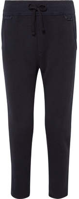 James Perse Cotton-blend Jersey Track Pants - Navy