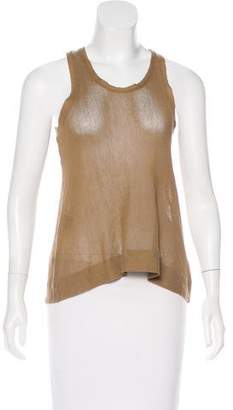 Isabel Marant Open Knit Sleeveless Top
