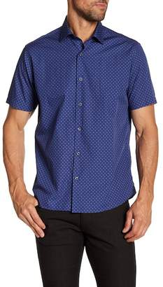 Robert Barakett Gabriel Short Sleeve Woven Shirt