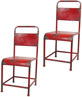 Pangea Samson Set Of Two Dining Chairs