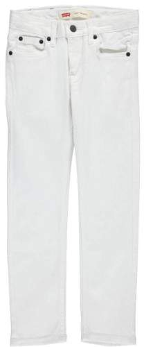 Big Boys' 510 Skinny Jeans (Sizes 8 - 20) - white, 16