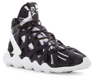 Y-3 Kyujo Hi-Top Sneaker $435 thestylecure.com