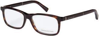 Ermenegildo Zegna EZ5013 Tortoiseshell-Look Rectangular Optical Frames