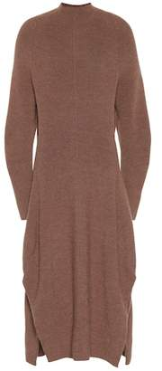Chloé Wool and alpaca-blend dress
