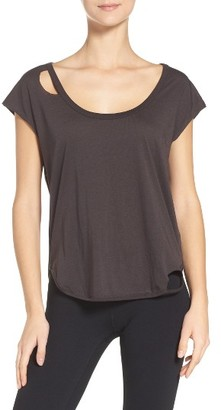 Women's Chaser Cutout Lounge Tee $52 thestylecure.com