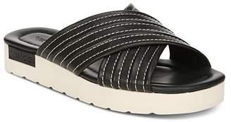 8955e2fa778 Vince Women s Camden Leather Platform Slide Sandals