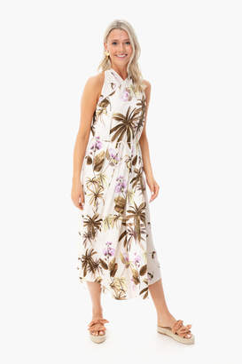 Vince Tropical Garden Dress