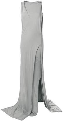 Rick Owens distressed layered dress