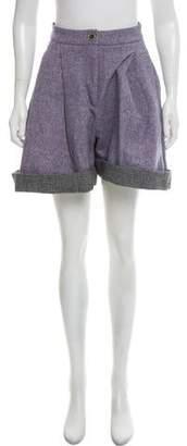 Natasha Zinko Mini Bouclé Shorts