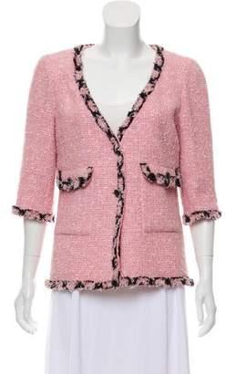 Chanel Tweed Bouclé Blazer