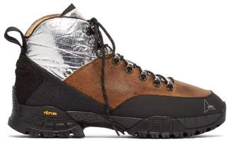 ROA Andreas Leather Boots - Mens - Brown Multi