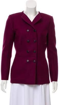 Oscar de la Renta Double-Breasted Wool Jacket