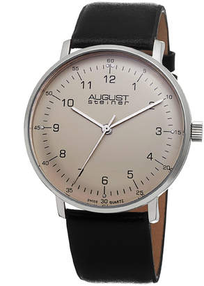 August Steiner Men's Men's Classic Swiss Watch
