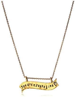 Alisa Michelle You Are My Sunshine Necklace