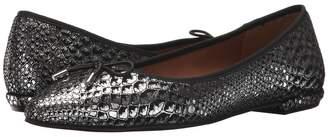 French Sole Anaconda Women's Dress Flat Shoes