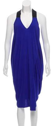 Zero Maria Cornejo Draped Midi Dress