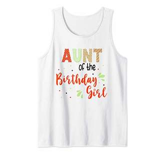 Strawberry Birthday Theme Shirt Sweet Party Summer Outfit Tank Top