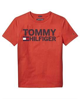Tommy Hilfiger Essential Graphic Tee S/S (Boys 8-14 Years)