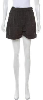 By Malene Birger Tweed Mini Shorts