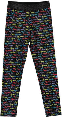 Stella McCartney Girl's Scribble Logo Print Leggings, Size 4-14