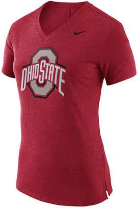 Nike Women's Ohio State Buckeyes Fan V Top T-Shirt