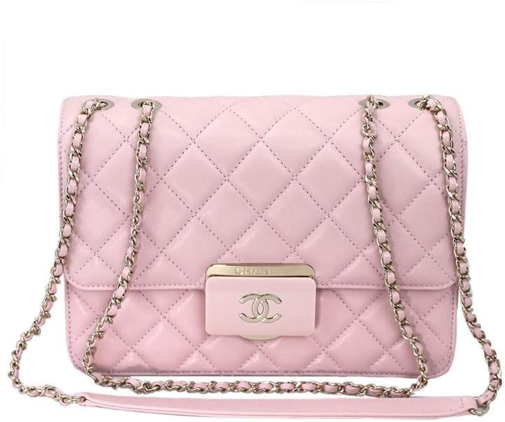 Chanel Sheepskin Leather Chain shoulder Flap bag A93222 Y60545
