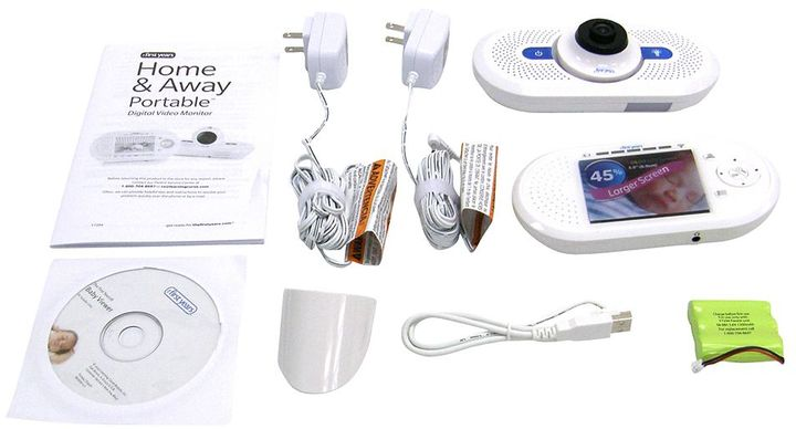 The first years home & away digital video monitor