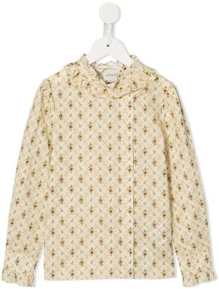 Gucci Kids floral print blouse