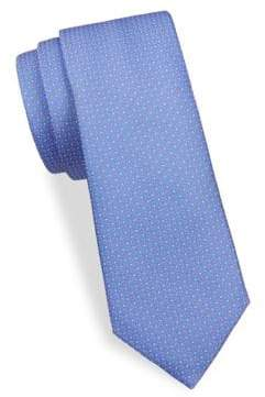 Canali Dotted Silk Tie