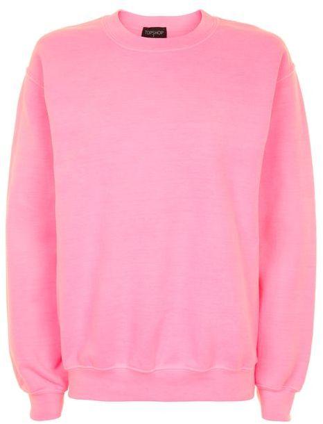 TopshopTopshop Fluro sweatshirt