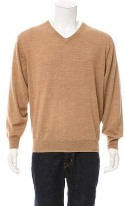 Kiton Rib Knit V-Neck Sweater w/ Tags