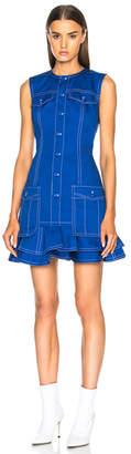 Givenchy Light Military Cotton Mini Dress