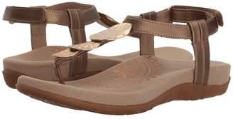Aetrex Olive Women's Sandals