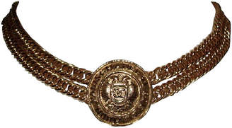 One Kings Lane Vintage Chanel Eagle Crest Coin Necklace - Treasure Trove NYC
