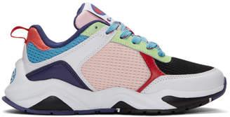 1ba6da2ee49c6 Champion Reverse Weave White 93Eighteen SP Block Sneakers