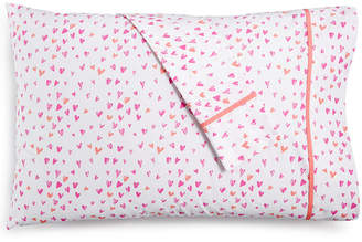 Martha Stewart Collection Whim by Collection Novelty Print Standard Pillowcase Pair, 200 Thread Count 100% Cotton Percale, Created for Macy's Bedding