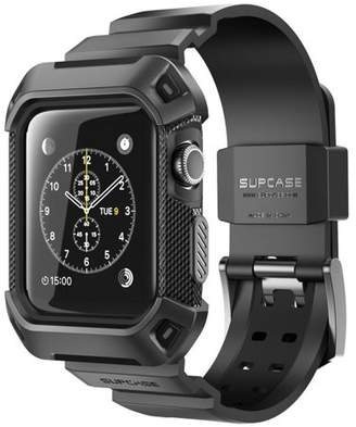 SUPCase Apple Watch 2 Case, SUPCASE, Unicorn Beetle Pro,Rugged Case with Strap Bands Apple Watch Series 2 2016 -Black