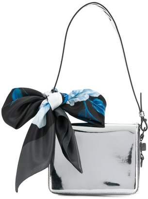 Off-White Mirrir Flap Shoulder Bag