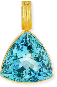 Dina Mackney Trillion-Cut Blue Topaz Enhancer