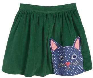 Boden Mini Animal Applique Skirt