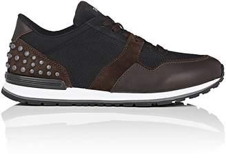 Tod's Men's Pebble-Embellished Sneakers